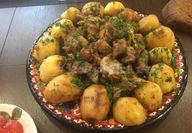 Казан кебаб: рецепт с фото, как приготовить из баранины по-узбекски, с картошкой