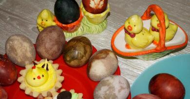 Как красиво покрасить яйца на пасху своими руками в домашних условиях без искусственных красителей