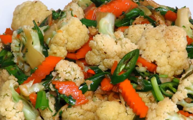 Приготовить свежую цветную капусту быстро вкусно