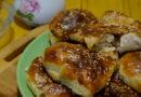 Самса из слоеного теста с курицей — пошаговый рецепт приготовления в духовке