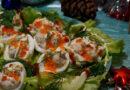Фаршированные яйца с печенью трески — очень вкусный рецепт на праздничный стол
