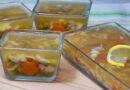 Заливное из курицы с желатином — 6 простых и вкусных пошаговых рецептов
