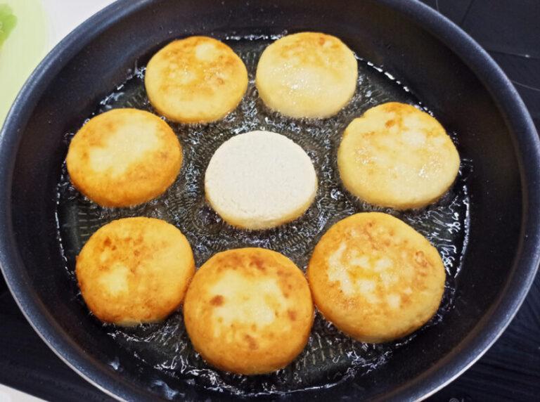 творожные сырники рецепт с фото на сковороде могут быть