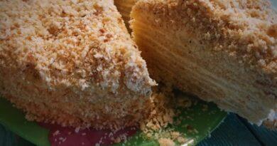 Торт «Наполеон» — самый вкусный и самый простой рецепт торта